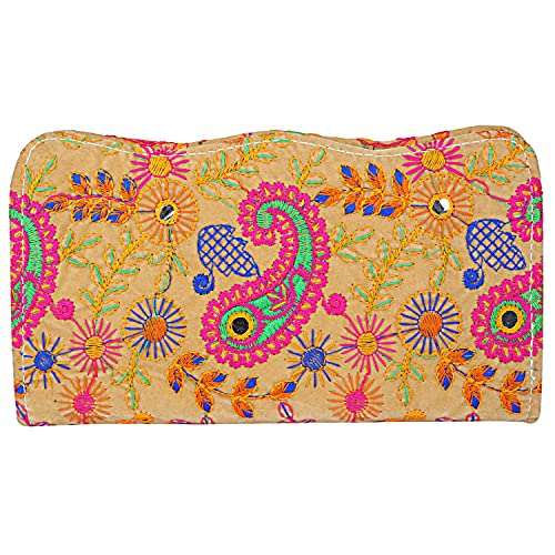 3401e910ca Image Unavailable. Image not available for. Color: Indian Banjara Hand Clutch  Purse ...