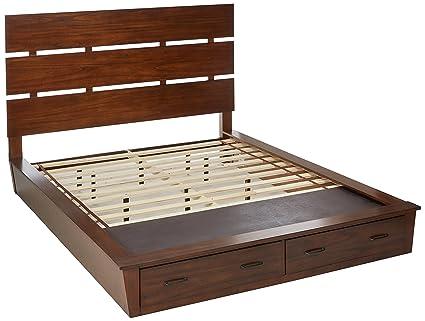 Amazon.com: Artesia California King Platform Bed with Storage