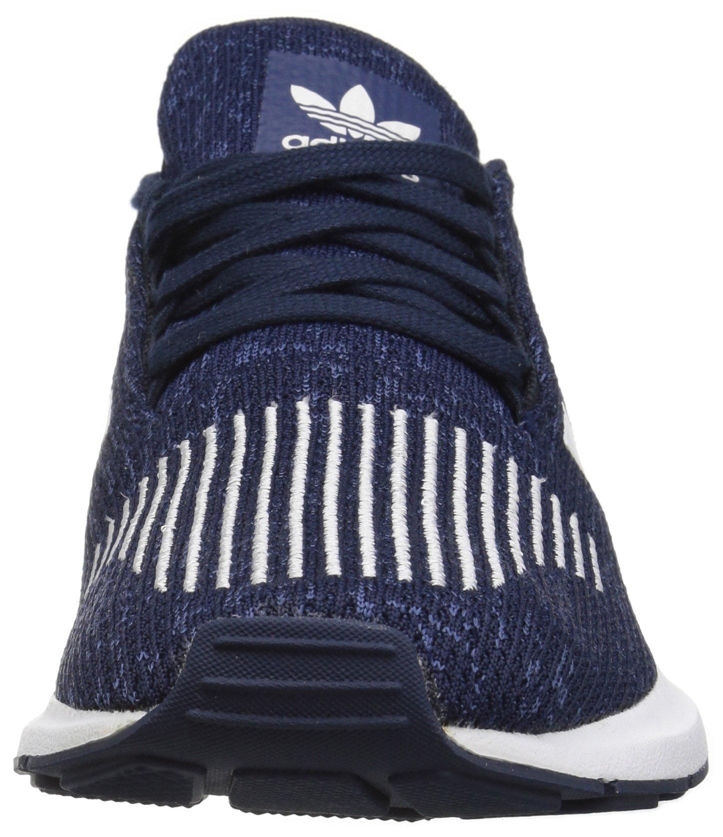 adidas Originals Baby Swift Running Shoe, Collegiate Navy/White/Mystery Blue, 4K M US Toddler by adidas Originals (Image #4)