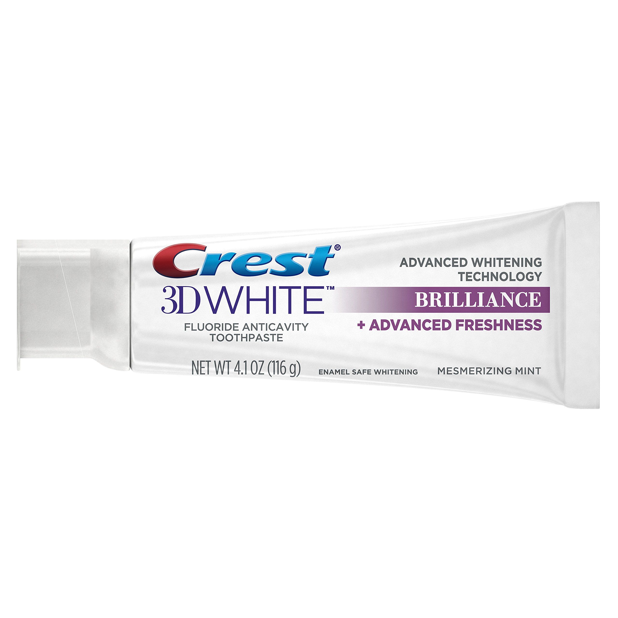 Crest 3D White Brilliance Mesmerizing Mint Toothpaste, 4.1 Ounce (Pack of 24) by Crest (Image #4)
