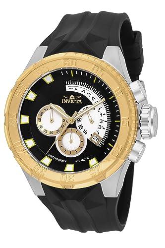 e80169955259 Invicta 16923 I-Force Reloj para Hombre acero inoxidable quarzo Esfera negro   Amazon.es  Relojes