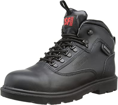 PSF Strata Black Work Shoes 528SM Size UK 9