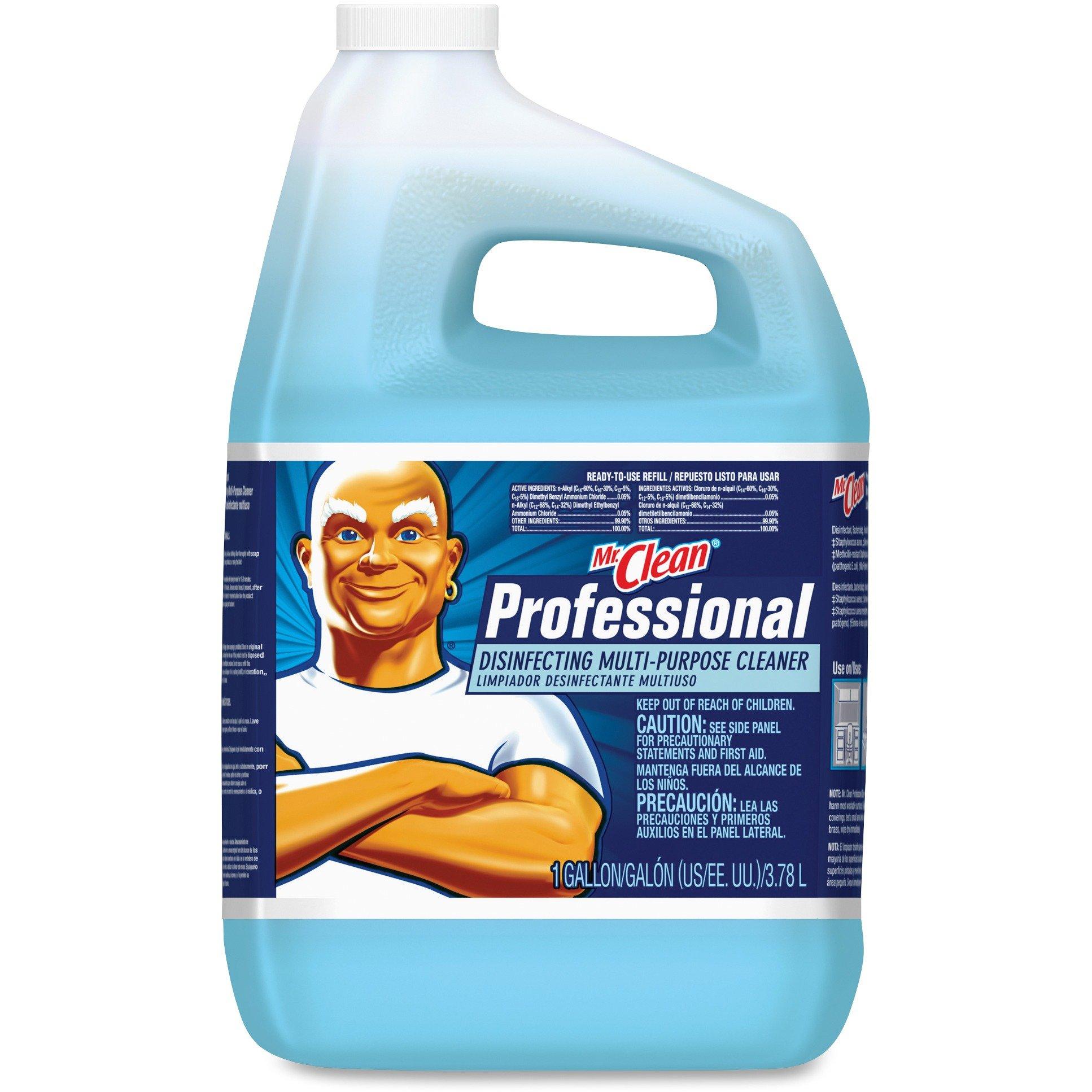 Mr Clean Professional Disinfecting Multi-Purpose Cleaner, 1 Gallon (Case of 4)