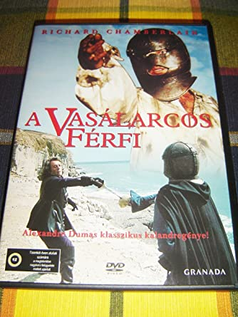 the man in the iron mask a vasálarcos férfi region 2 european