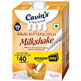 Cavin's Milkshake, Kaju Butterscotch, 500ml