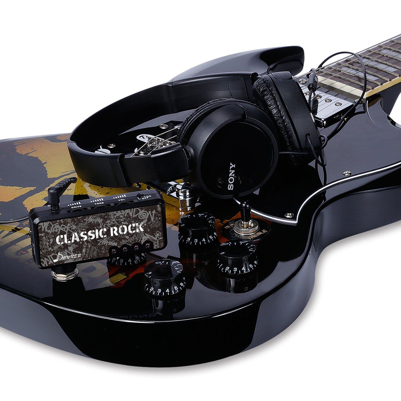 donner classic rock pocket mini guitar headphone amp