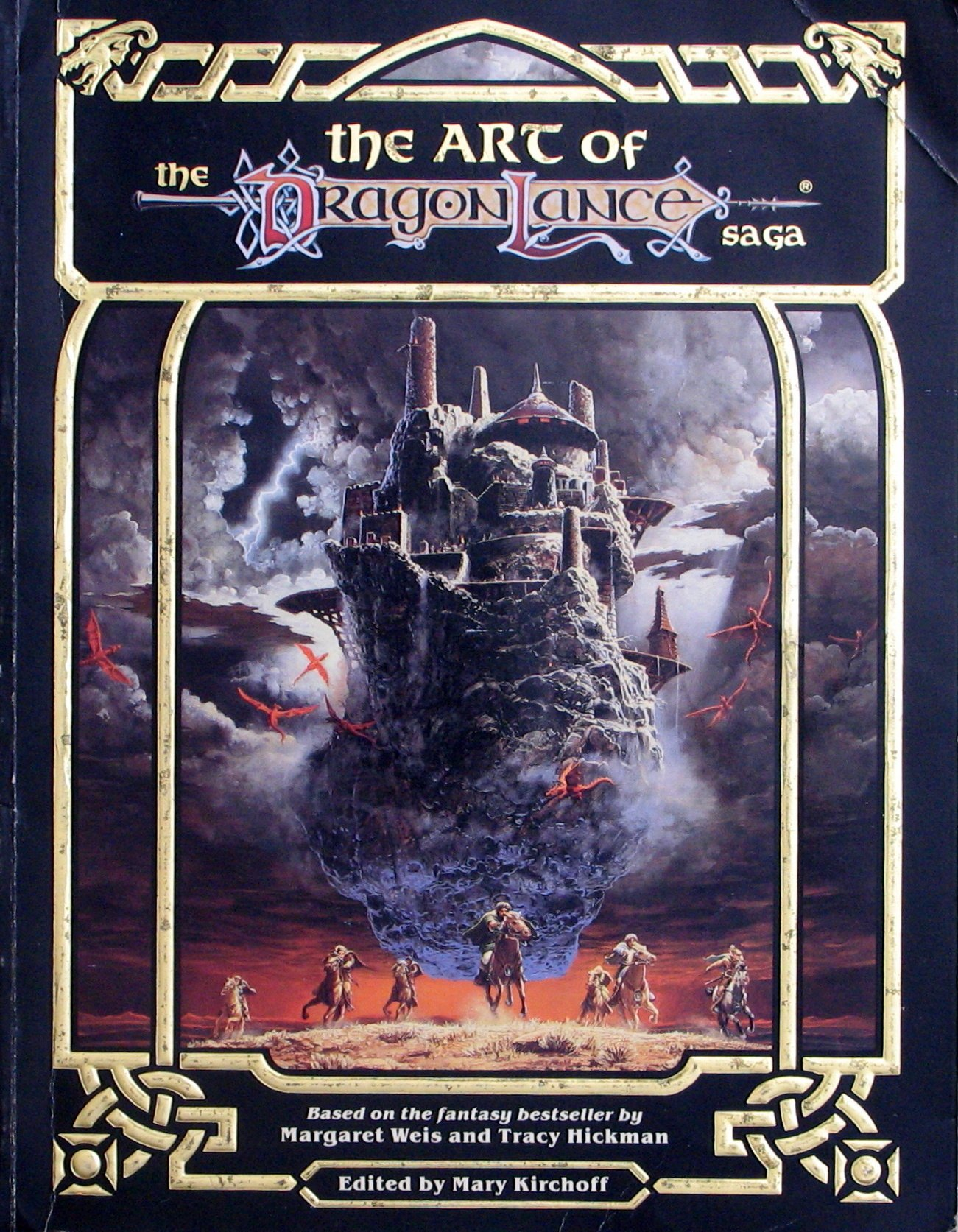 The Art of the Dragonlance Saga: Based on the Fantasy Bestseller by  Margaret Weis and Tracy Hickmann: Amazon.co.uk: Mary Kirchoff:  9780880384476: Books
