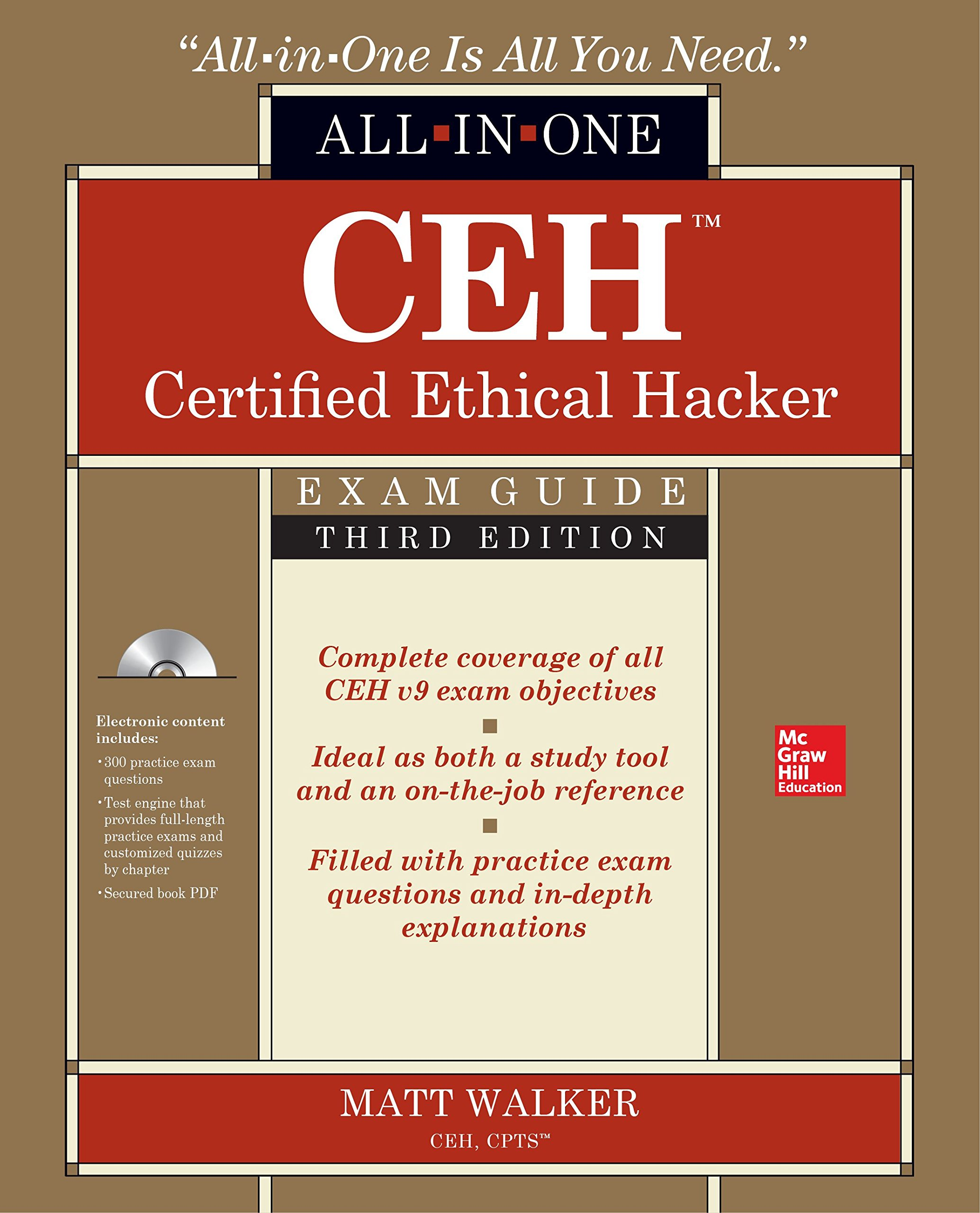 Ceh certified ethical hacker all in one exam guide third edition ceh certified ethical hacker all in one exam guide third edition oracle press amazon matt walker 9781259836558 books xflitez Image collections