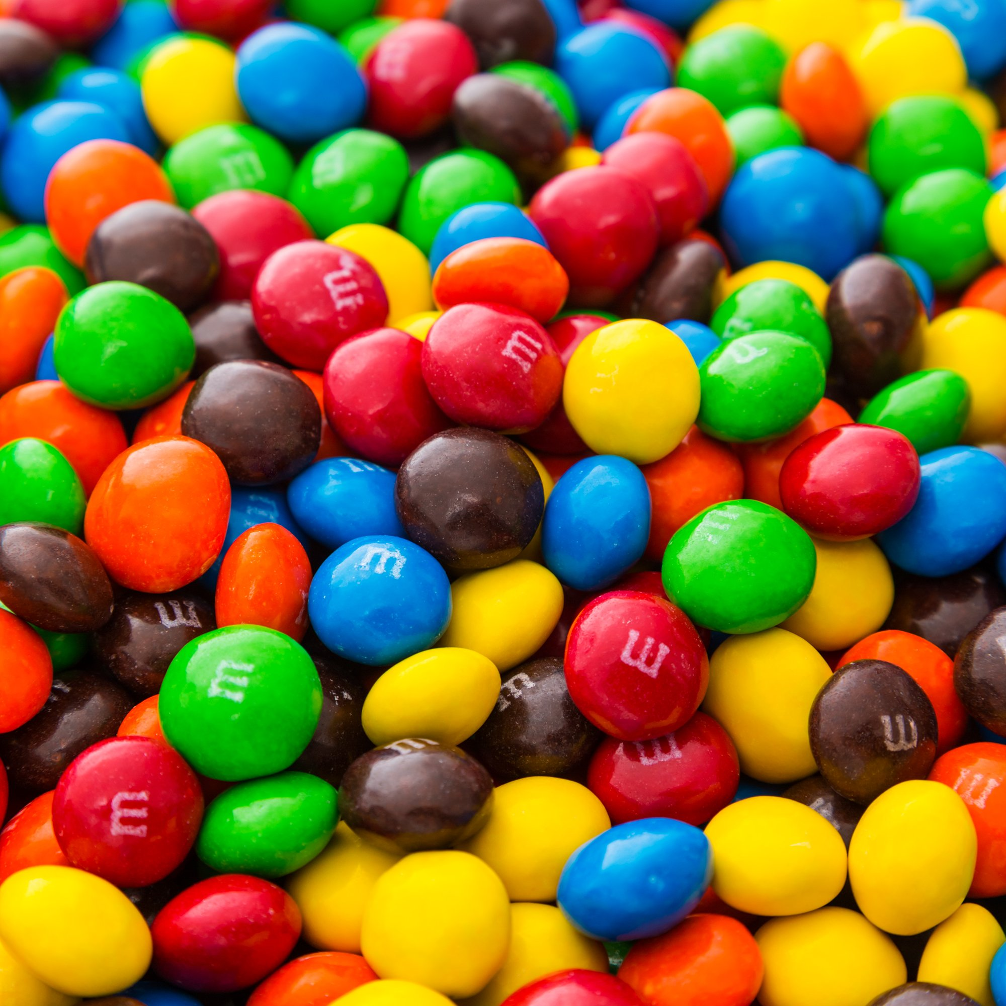 Bulk M&M's Plain Milk Chocolate in a Bomber® Bag - 5 lbs - Fresh, Tasty Treats - Resealable Bag by Fast Fresh Nuts (Image #3)
