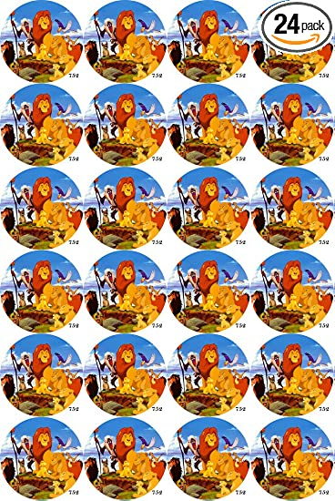 The Lion King 24 Edible Cupcake Toppers