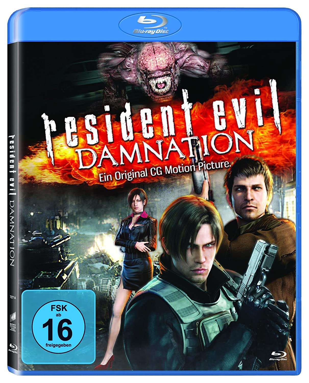Amazon Com Resident Evil Damnation Movies Tv