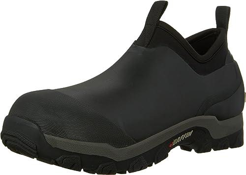 BAFFIN Men/'s MARSH MID Low Rain BOOTS Black