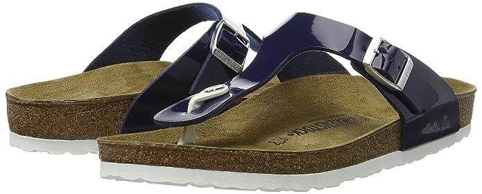 0c57561c4be Birkenstock Gizeh Regular Fit- Patent Dress Blue 1005301 (Man-Made) Womens  Sandals 43 EU  Amazon.ca  Shoes   Handbags