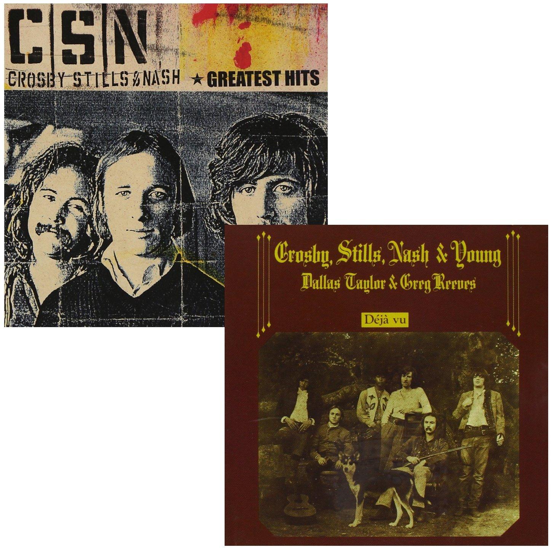 Greatest Hits - Deja Vu - Crosby, Stills, Nash & Young - 2 CD Album Bundling by SUNATORIA