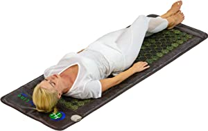 HealthyLine Far Infrared Heating Pad - Hot Stones Jade Tourmaline - Negative Ions - Mesh JT Mat Full 7224 Soft Light InfraMat Pro®