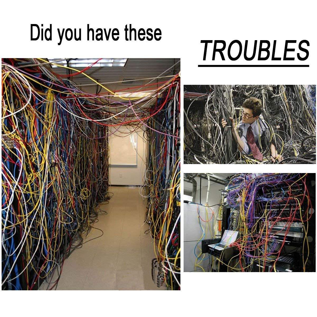 500Pcs Zip Ties,Black Nylon Zip Cable Ties Adjustable Durable Self Locking Zip Ties for Home Office Garage Workshop Indoor /& Outdoor Heavy Duty 4//6//8//10//12inches