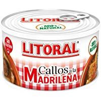 LITORAL Callos Madrileña Plato Preparado Sin Gluten