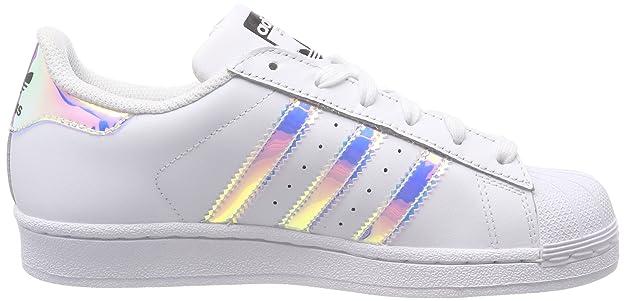 91929bff90 Adidas Superstar J Chaussures de Gymnastique, Mixte Enfant: Amazon.fr:  Chaussures et Sacs