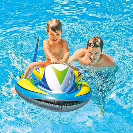 Amazon.com : Kid Ride-On Water Play Swimming Pool Jet Ski Toy ...