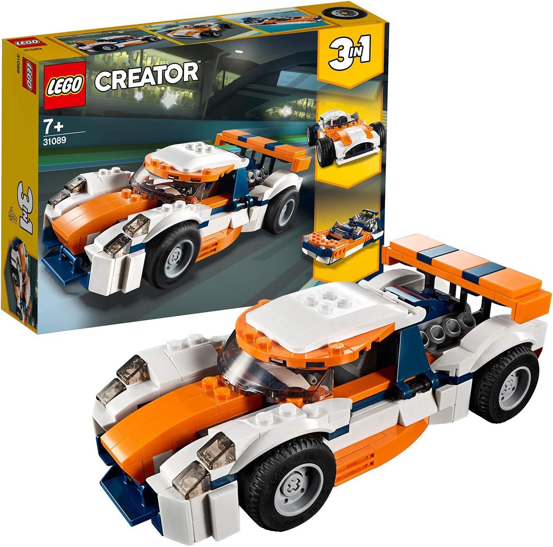 LEGO Creator - Deportivo de Competición Sunset, juguete creativo ...