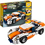 LEGO Creator 3in1 Sunset Track Racer 31089 Building Kit, 2019 (221 Pieces)