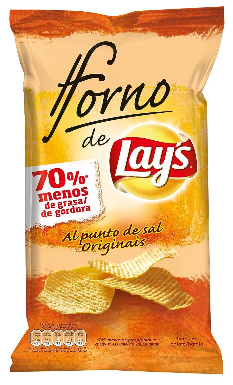 Lays - Al Horno - Patata Horneada con Sal - 150 g - [pack de 3 ...