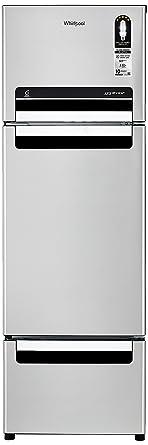 Whirlpool 260 L Frost Free Multi-Door Refrigerator(FP 283D Protton Roy, Alpha Steel)