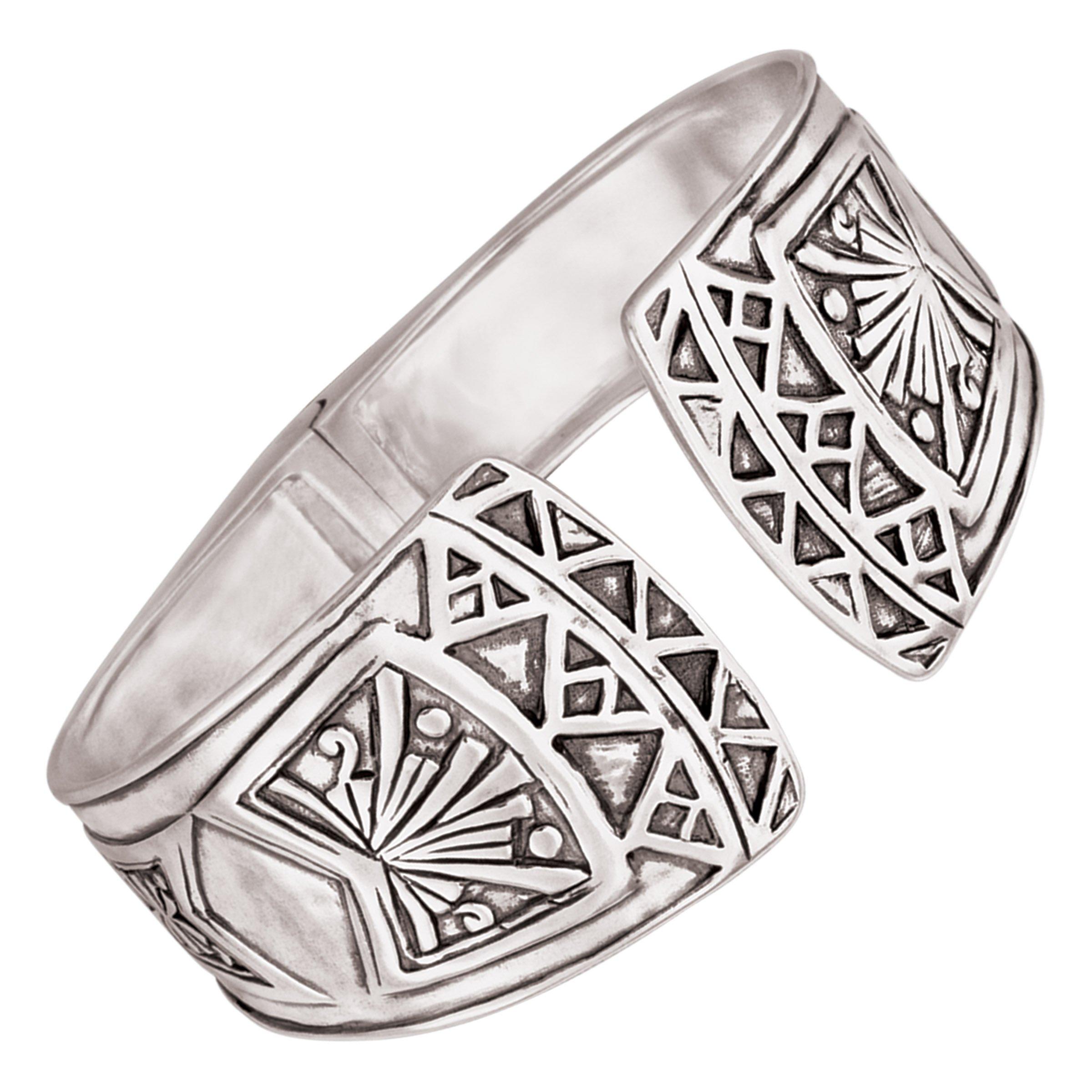 Silpada 'Willow Hinge' Sterling Silver Cuff Bracelet, 6.5''