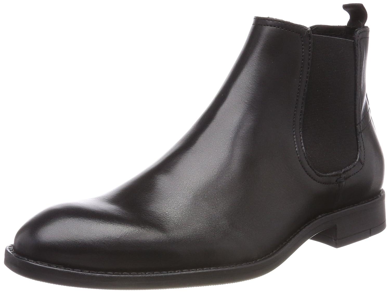 Bianco Herren Classik Chelsea 62 71658 Boots Schwarz (Black)