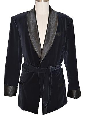 Image Unavailable. Image not available for. Color  Women s Black Velvet  Smoking Jacket ... 650b3392de