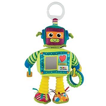 Lamaze Rusty The Robot Clip On Pram And Pushchair Newborn Baby Toy