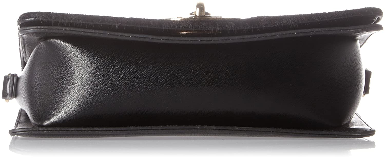 MARCO TOZZI Damen 61011 Schultertasche, Schwarz (Black Comb), 21x14x5 cm