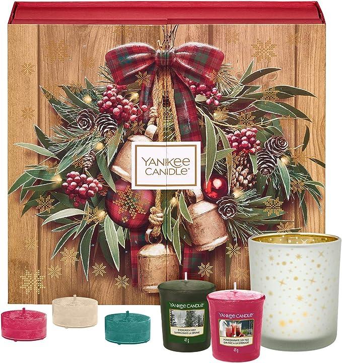Magique Matin de Noël collection Nouveaux Yankee Candle 4 votive Candle Ensemble Cadeau