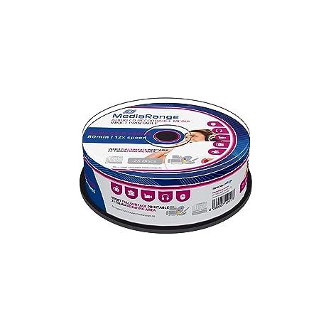 MediaRange Audio CD-R - Reproductor de CD (700 Mb/80 min ...