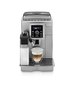 De'Longhi ECAM23460S Digital Super Automatic Machine with Lattecrema System, Silver