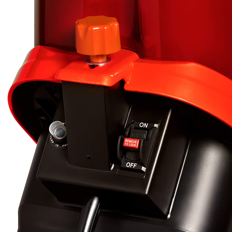 Sun Joe CJ602E-RED 15 Amp Electric Wood Chipper//Shredder Renewed Red