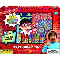 Ryan's World Coloring Art Set for Boys and Girls with Stickers + Pencil Pouch