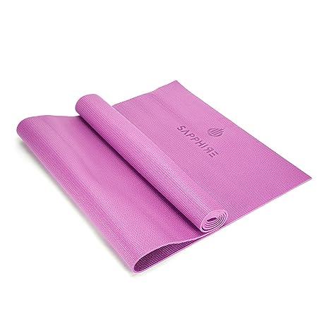 KB Classic Pro - Esterilla de Yoga de 6 mm de Grosor, PVC ...