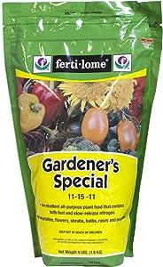GARDNER SPECIAL FOOD 4LB by FERTI-LOME MfrPartNo 10784