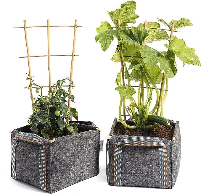 Saco Cubo Mh (30x30x20cm) para Huerto Urbano + Manual Agricultura ...