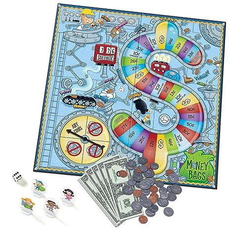 Amazon.com: - Money Bags Coin Value Game: Toys & Games