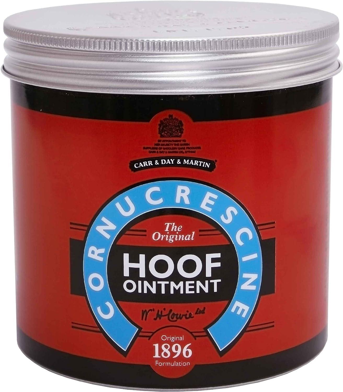 William Hunter Equestrian - Pomada de cornucrescina para pezuñas saludable, mantiene una condición óptima de pezuña (250 ml o 500 ml)