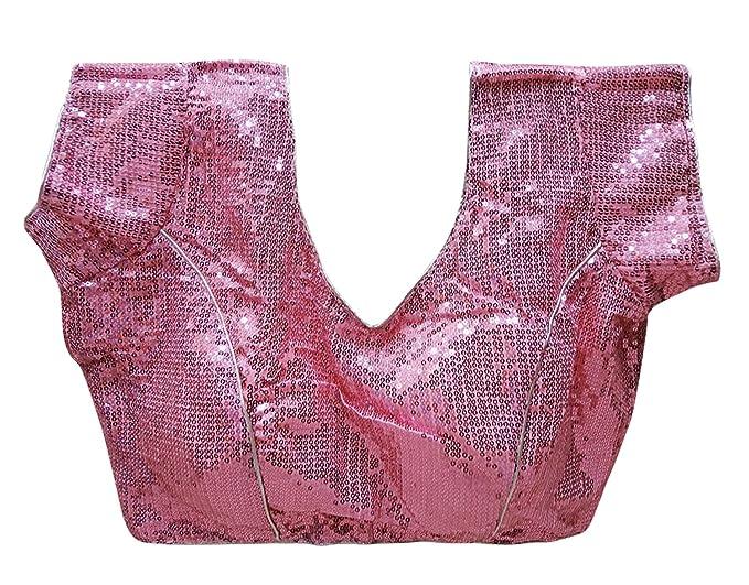 PEEGLI Blusas Diseñador Hermoso Blusa Cultivos Parte Superior Mujeres Cosidas