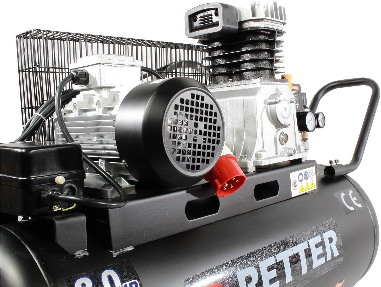 retter rt4100 druckluft kompressor 100l luftkompressor 3ps buy auto13 online. Black Bedroom Furniture Sets. Home Design Ideas