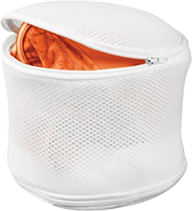 Honey-Can-Do LBG-01147 Bra Wash Bag, White