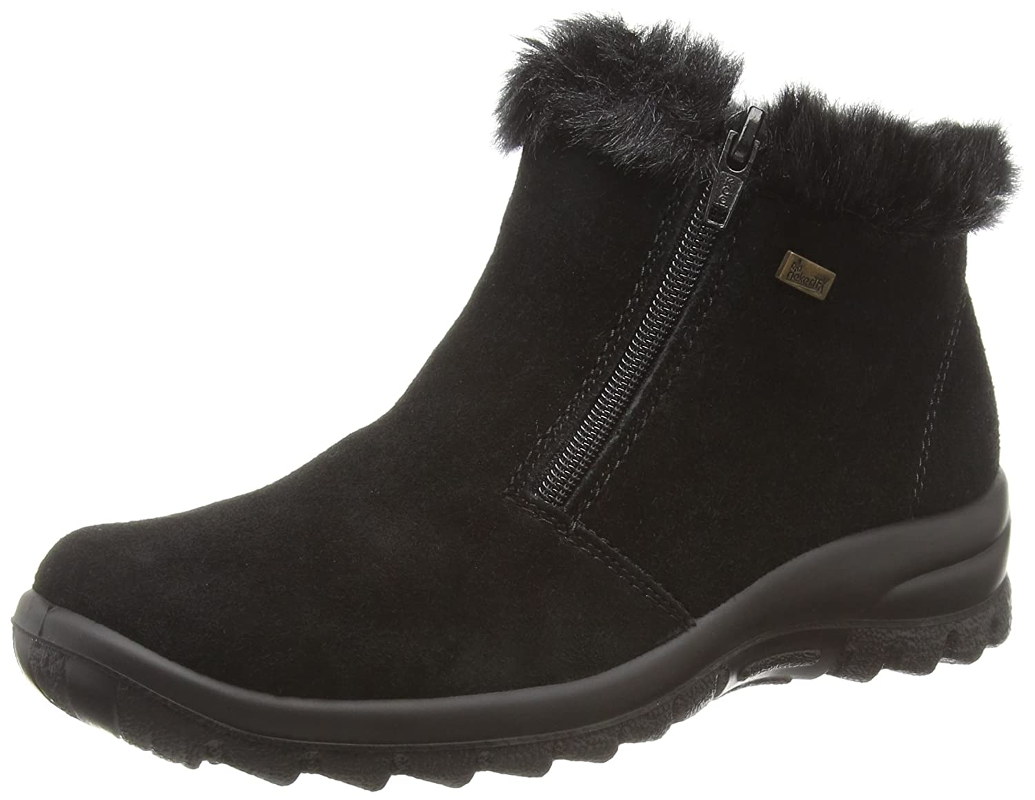 eebaffbe1e Rieker Y0363-01, Women's Ankle Boots: Amazon.co.uk: Shoes & Bags