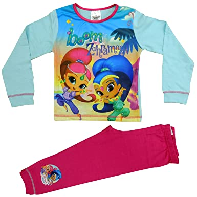 Girls Official Licensed Shimmer /& Shine Pajamas Age 1 to 4 Years