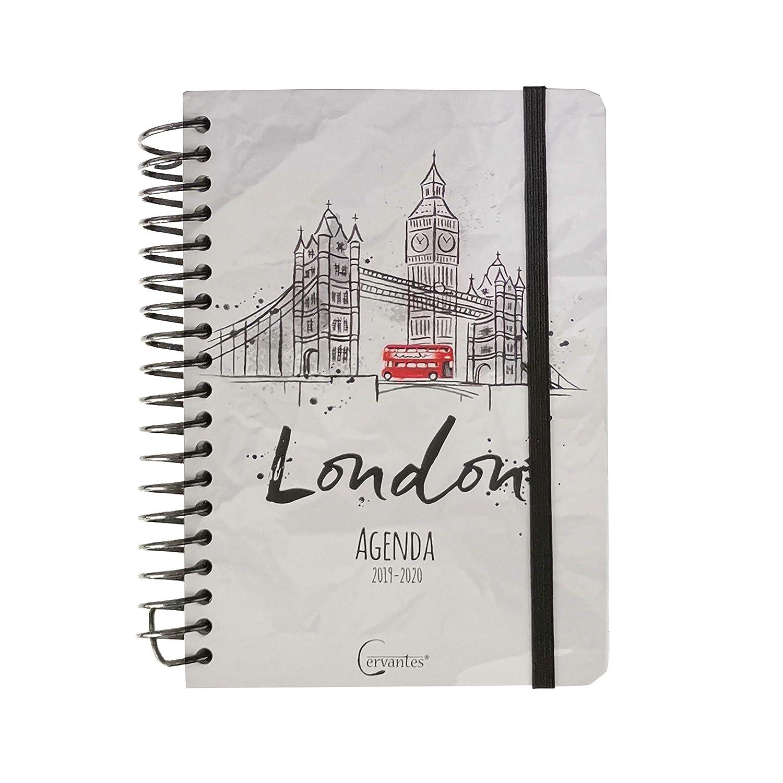 Agenda Escolar 2019-2020 14 X 17.5 Cm Español (LONDON B)