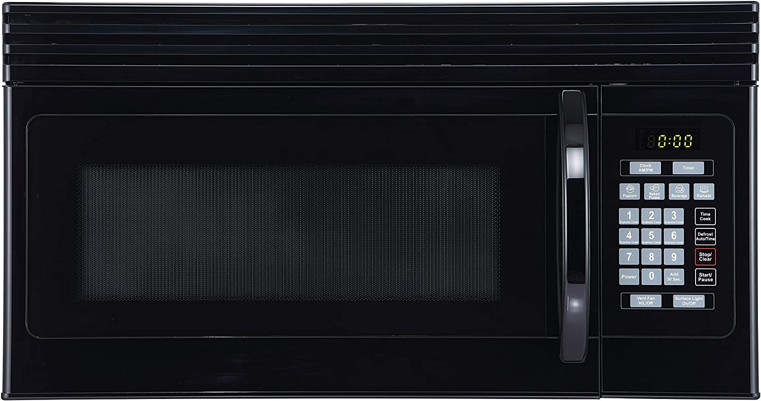Black+Decker EM044KJN-P2 1.6-Cu. Ft. Over-the-Range Microwave
