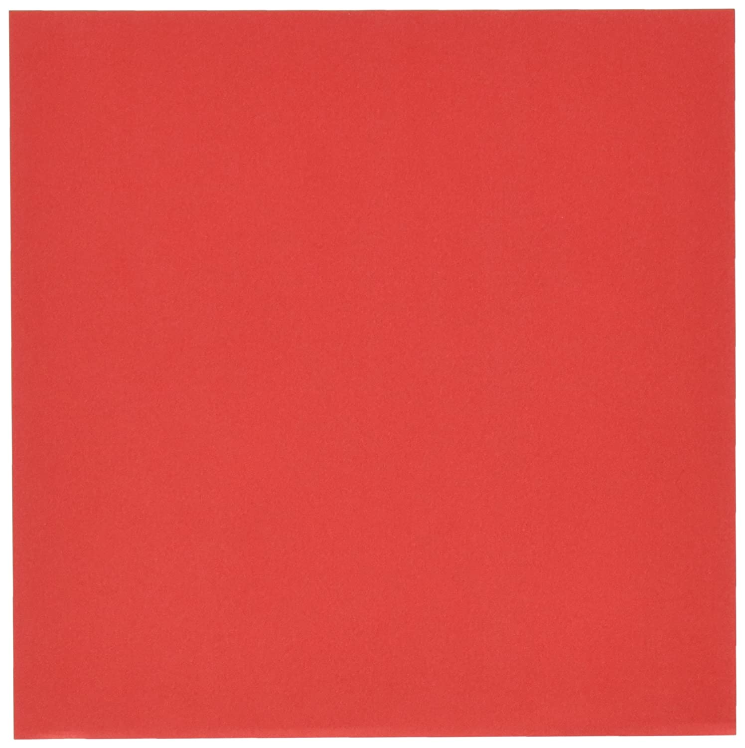 Aitoh OG-RD Origami Paper, 5.875-Inch by 5.875-Inch, Red, 50-Pack Notions